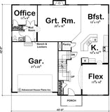 2 story house plan main