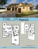 Tuscan 1.5 Story House Plan Book