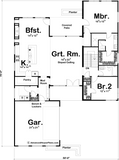 Valley Creek - Advanced House Plans