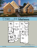 1 Story Cottage Style House plan book
