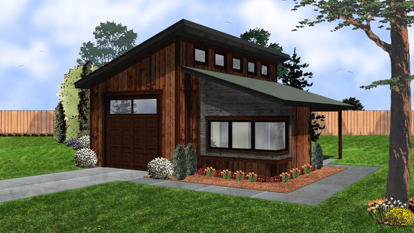 Kimmons for Clerestory style shed plans