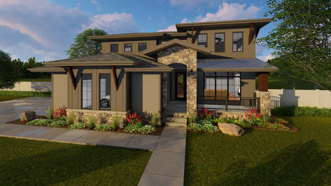Edgemont - Advanced House Plans