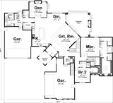 Pebble Beach - Advanced House Plans