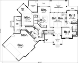 craftsman style one story house plan