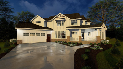 Shadow Creek - Advanced House Plans