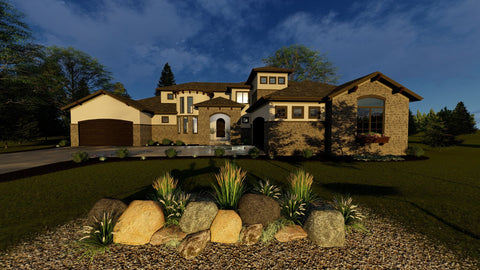 Quarry Oaks - Advanced House Plans