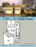 Mediterranean 1 story house plan book page