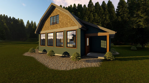 Bentonville - Advanced House Plans