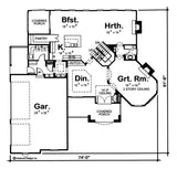 Woodland Manor - Advanced House Plans