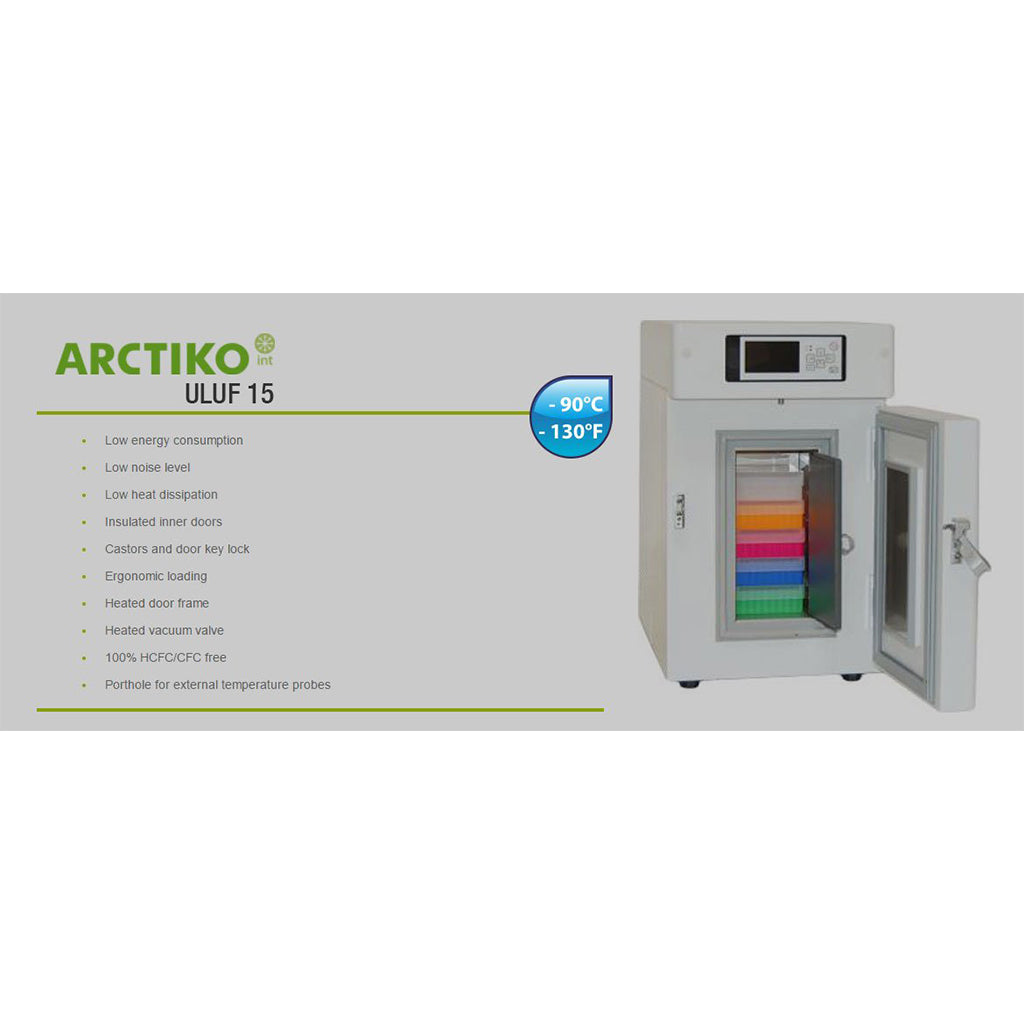 Ultra-Low Temperature Freezer: Arctiko ULUF 15