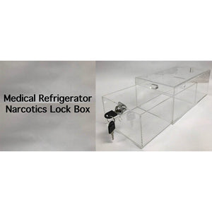 Medical Refrigerator Narcotics Lock Box (Large)