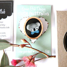 Load image into Gallery viewer, Cute Australia Cute Koala Club Brooch