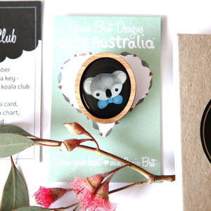 Cute Australia Cute Koala Club Brooch