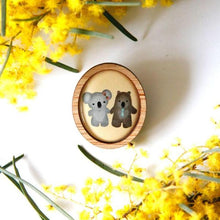 Load image into Gallery viewer, Cute Australia Friends Brooch