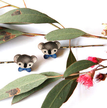 Load image into Gallery viewer, Cute Australia koala club hair slides