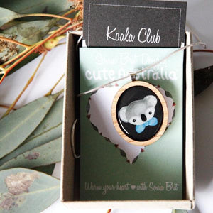 Cute Australia Cute Koala Club Necklace