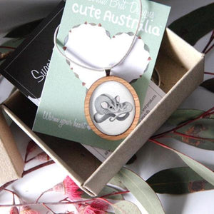 Cute Australia Sugar Glider Necklace