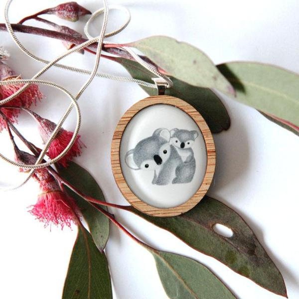Cute Australia Koala Necklace