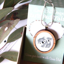 Load image into Gallery viewer, Cute Australia Koala Necklace