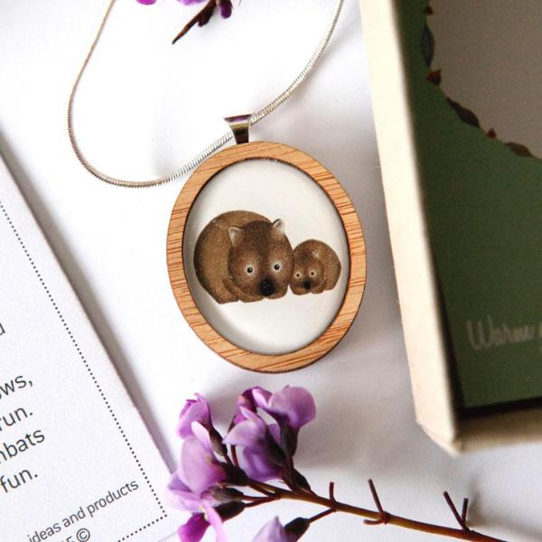 Cute Australia Wombat Necklace
