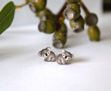 Load image into Gallery viewer, Cute Australia koala studs