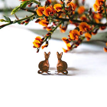 Load image into Gallery viewer, Cute Australia wallaby studs