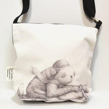 Load image into Gallery viewer, BOB HUB satchel bag - Motorbike Sloth