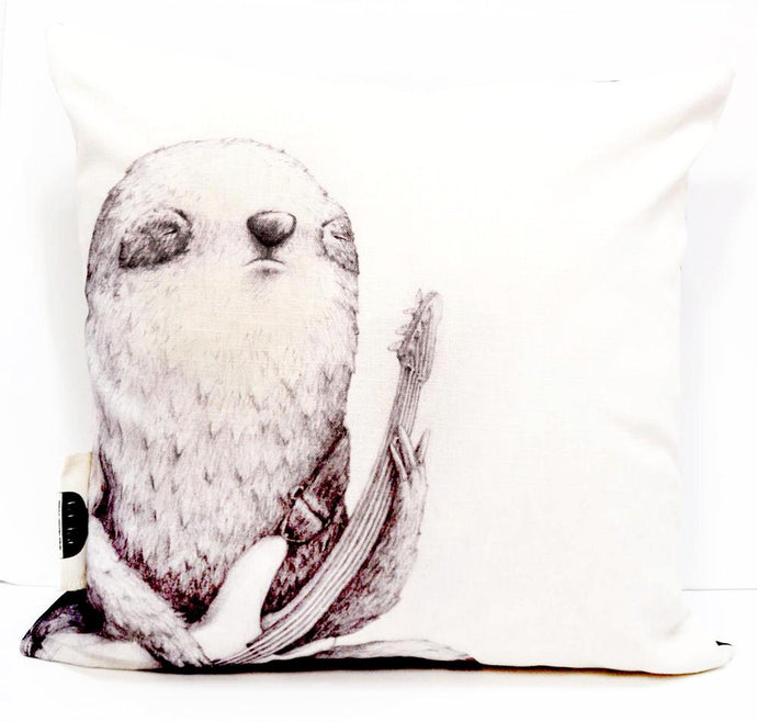 BOB HUB cushion cover - Bass Sloth