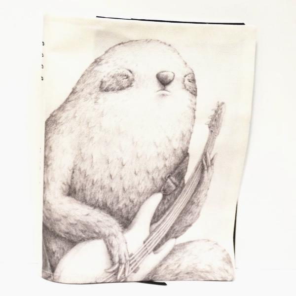 BOB HUB journal cover - Bass Sloth