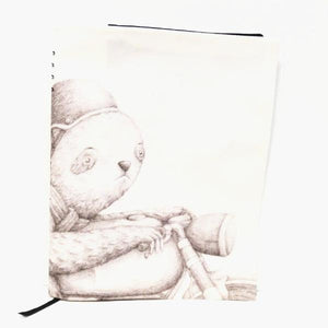 BOB HUB journal cover - Motorbike Sloth