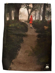 BOB HUB tea towel - Red Riding Hood