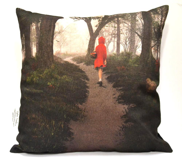 BOB HUB cushion cover - Red Riding Hood