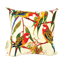 Load image into Gallery viewer, BOB HUB cushion cover - Eastern Rosella