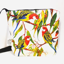 Load image into Gallery viewer, BOB HUB satchel bag - Eastern Rosellas