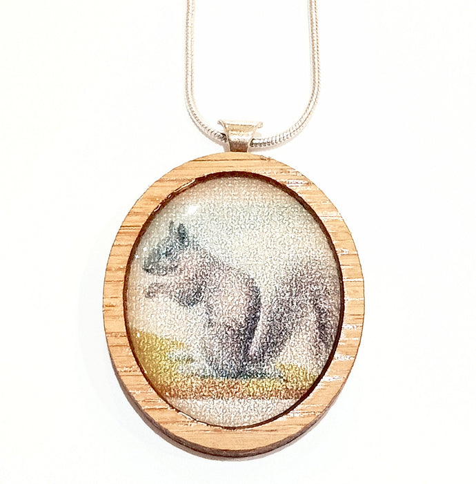 Sonia Brit Resin necklace - Squirrel