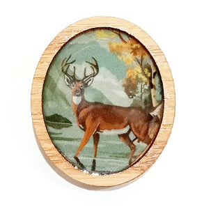 Sonia Brit Resin brooch - Majestic Stag