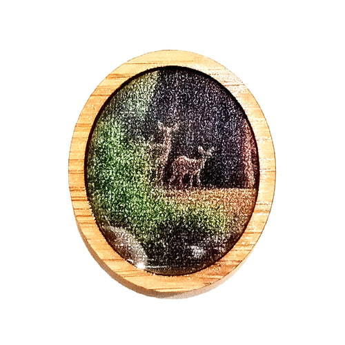 Sonia Brit Resin brooch - Woodland Deer's