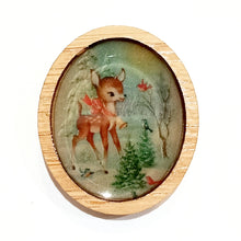Load image into Gallery viewer, Sonia Brit Resin brooch - Winter Deer