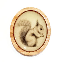 Load image into Gallery viewer, Sonia Brit Resin brooch - Cheeky Squirrel