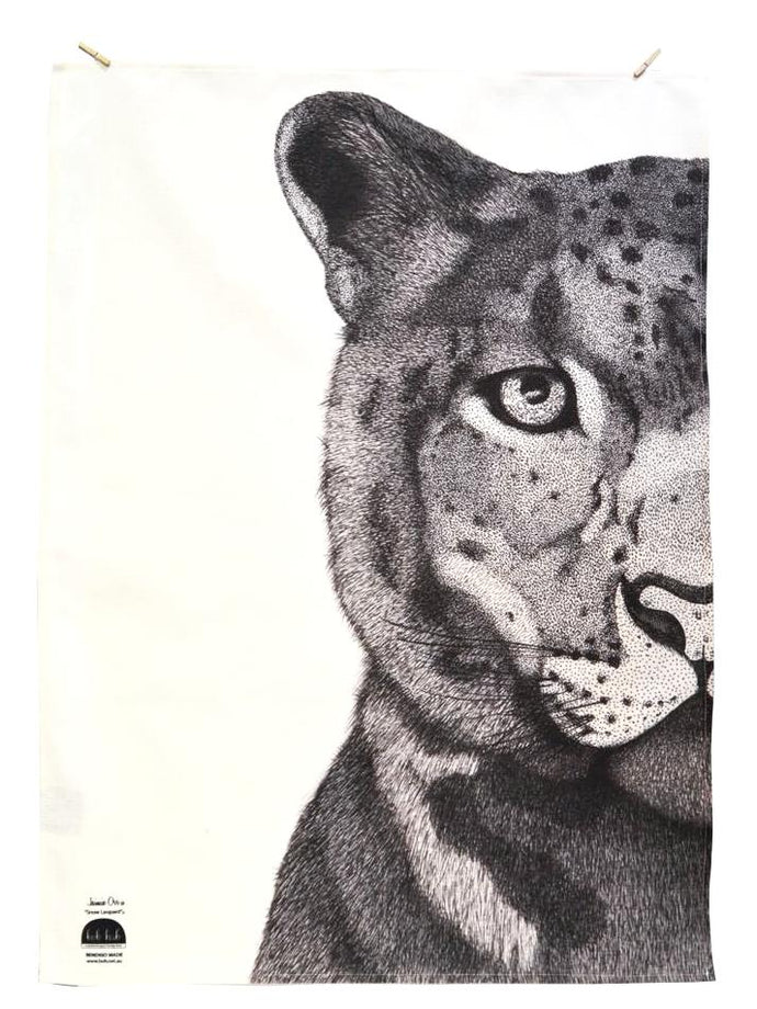 BOB HUB tea towel - Leopard