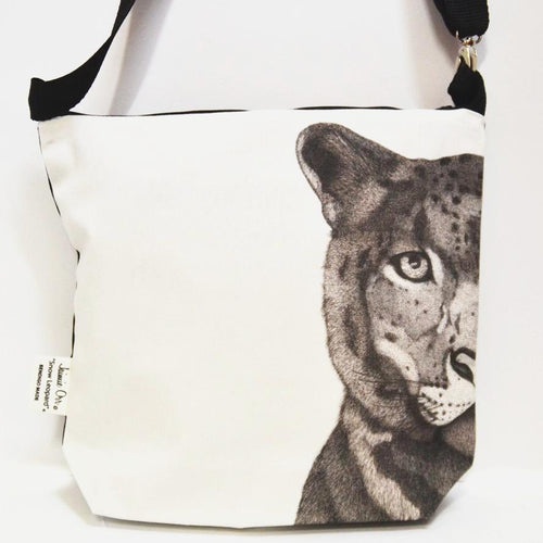 BOB HUB satchel bag - Snow Leopard