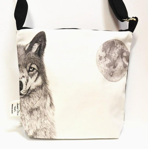 BOB HUB satchel bag - Wolf