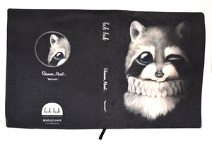 BOB HUB journal cover - Raccoon