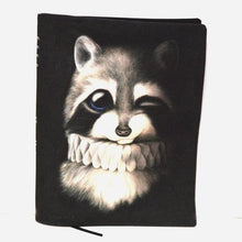 Load image into Gallery viewer, BOB HUB journal cover - Raccoon