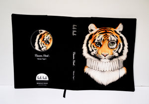 BOB HUB journal cover - Mr Tiger