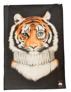 BOB HUB tea towel - Mr Tiger