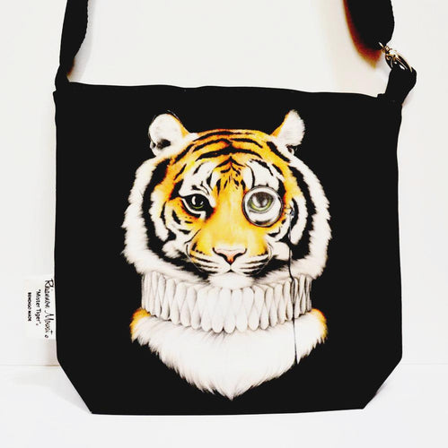 BOB HUB satchel bag - Mr Tiger