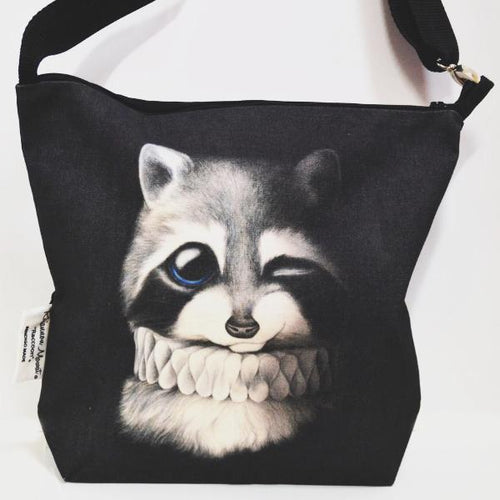 BOB HUB satchel bag - Raccoon