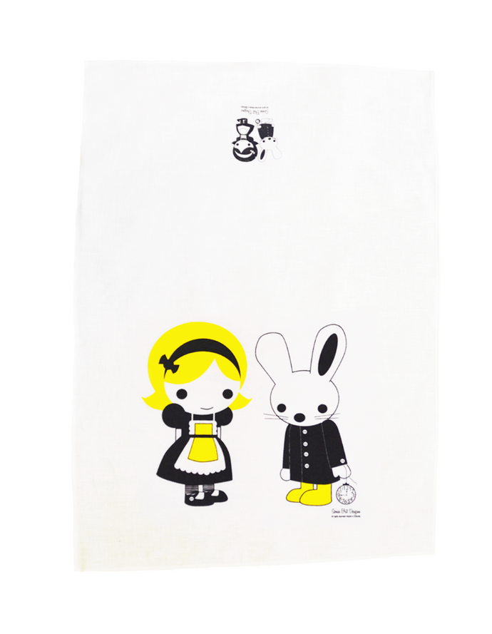 Sonia Brit Design tea towel Alice