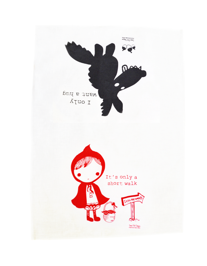 Sonia Brit Design tea towel Short Walk